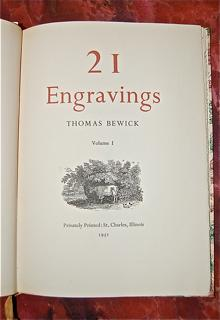 21 Engravings: Ferriss, Edna W. (Ed.) and Thomas Bewick]