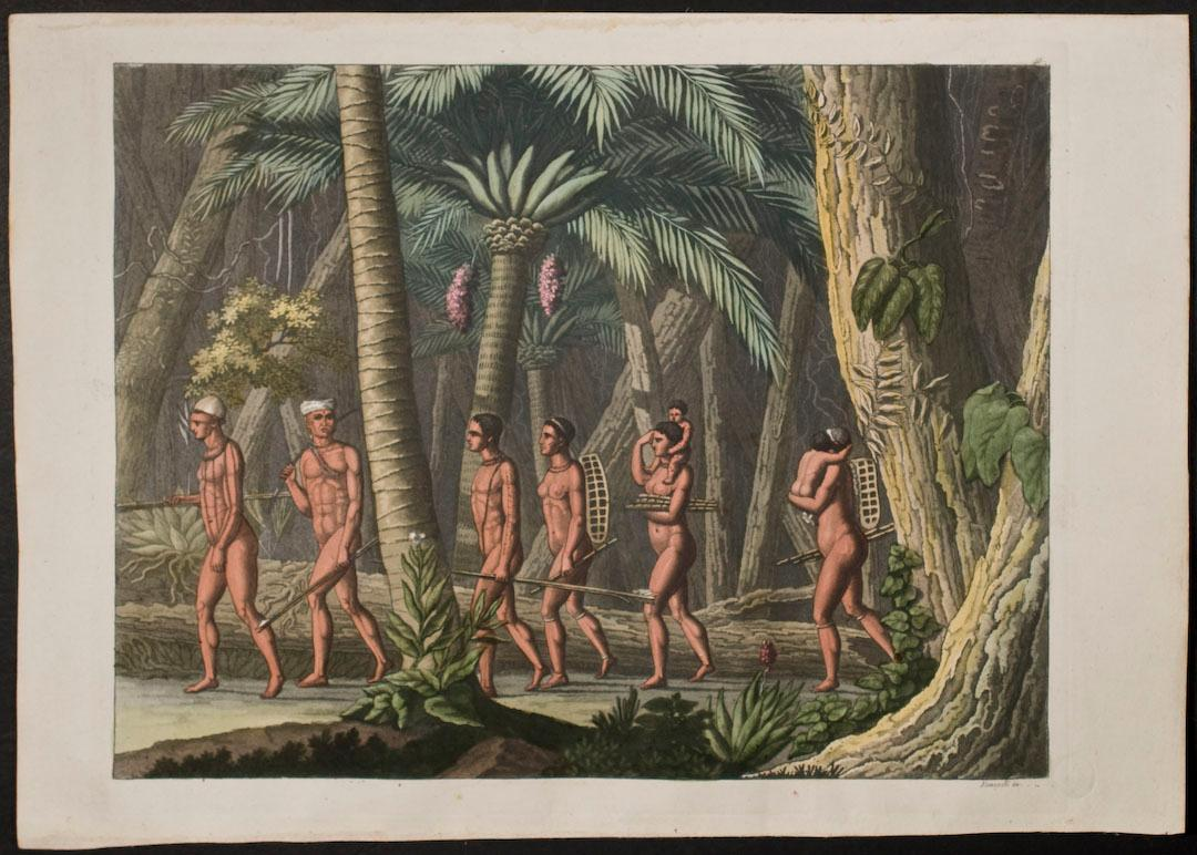 Nude Native People in Forest Dr. Jules Ferrario Fine