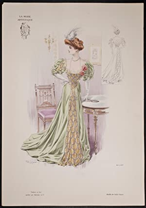 Fashionably Dressed Woman by Callot Soeurs