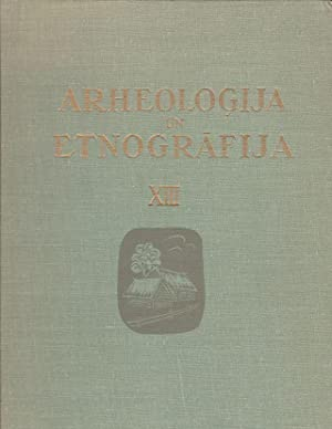 Arheologija Un Etnografija XIII Latvijas Lauku Apmetnu: Cimermanis, S. (