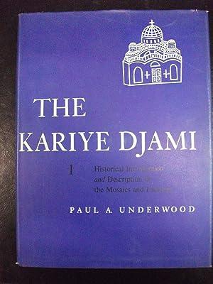 The Kariye Djami vol 1: Underwood