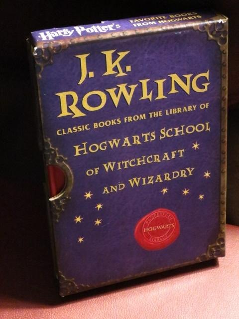 Harry Potter Classic Books From The Hogwarts School Of Witchcraft