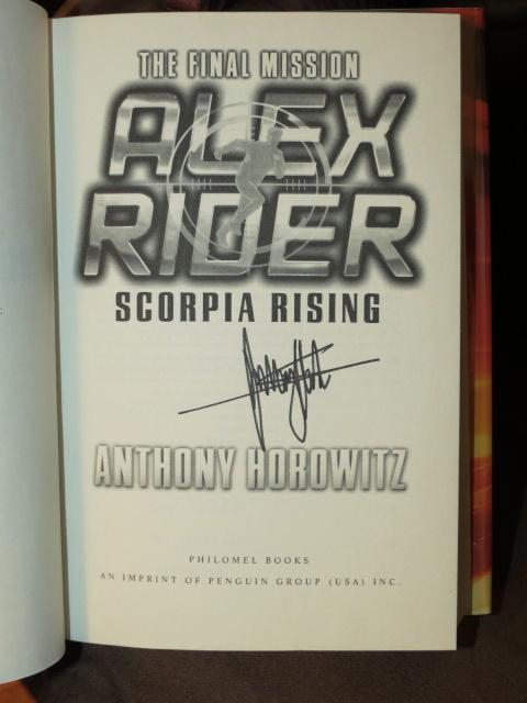 Read scorpia by anthony horowitz online dating