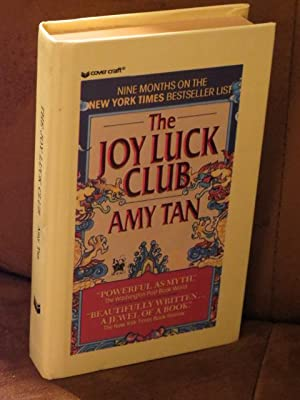 """The Joy Luck Club """" Signed """": Tan, Amy"""