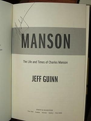 """Manson """" Signed """": Guinn, Jeff"""