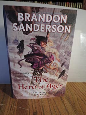 """The Hero Of Ages """" Signed """": Sanderson, Brandon"""