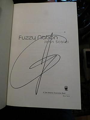 """Fuzzy Nation """" Signed """": Scalzi, John"""