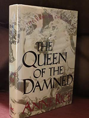 """The Queen Of The Damned """" Signed: Rice, Anne"""