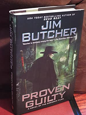 """Proven Guilty """" Signed """": Butcher, Jim"""