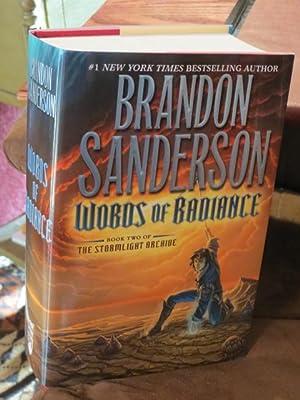 """Words of Radiance """" Signed """": Sanderson, Brandon"""