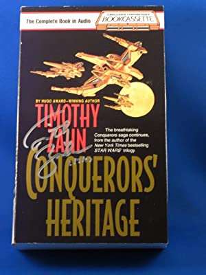 """Conqueror's Heritage """" Signed """": Zahn, Timothy"""
