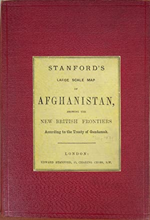 Stanford's Large Scale Map of Afghanistan: Stanford, E.