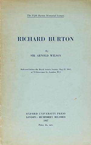 The Fifth Burton Memorial Lecture: Wilson, A.