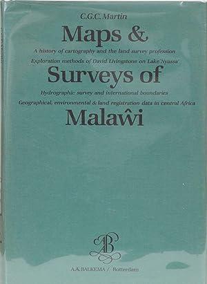 Maps & Surveys of Malawi: Martin, C G C.