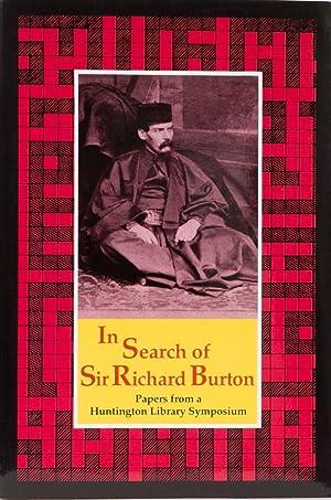 In Search of Sir Richard Burton: Jutzi, A.