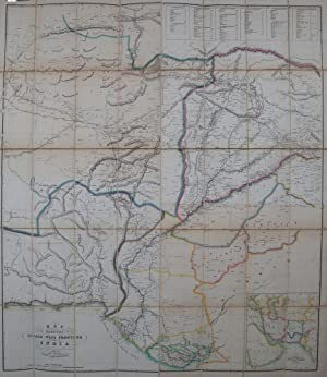 Map of the Countries on the Northwest frontier of India: Walker, John