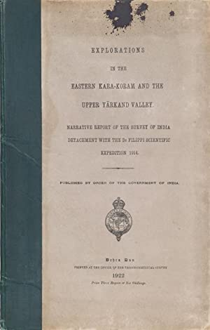 Explorations in the Easrern Kara-Koram and the Upper Yarkand Valley: Wood, H.