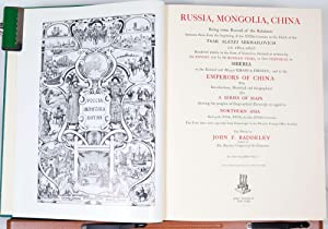 Russia, Mongolia, China: Baddeley, J.F.