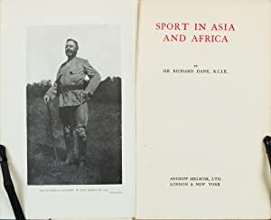 Sport in Asia and Africa: Dane, R.