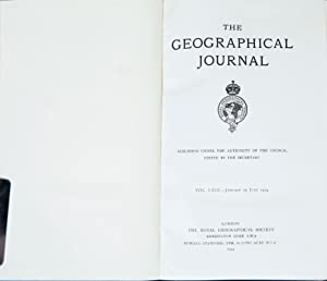 The Geographical Journal: The Royal Geographical Society
