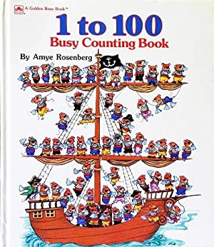 1 To 100 Busy Counting Book (A: Amye Rosenberg