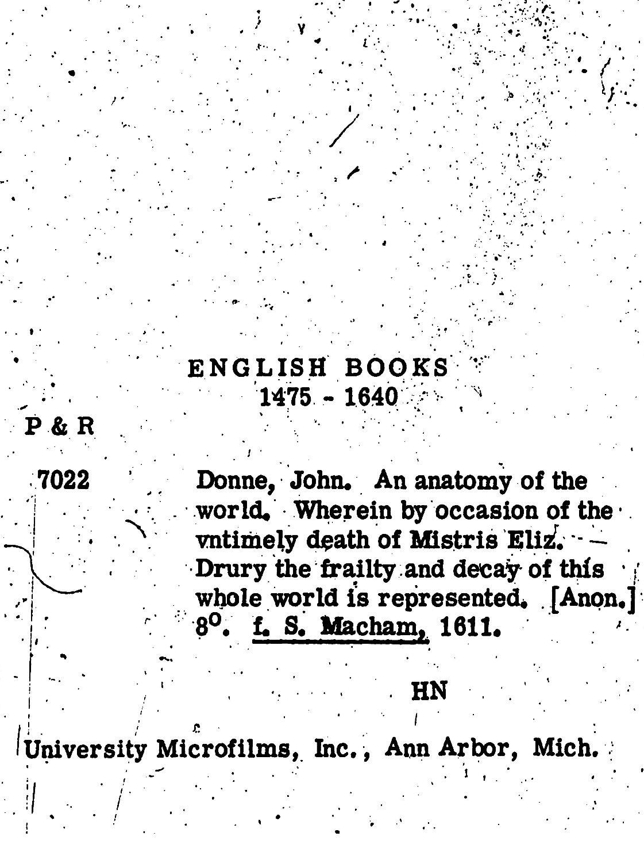 John Donne - AbeBooks