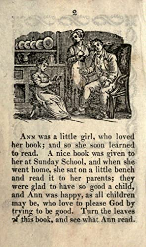 Ann and her little book [Reprint]: American Sunday-School Union.