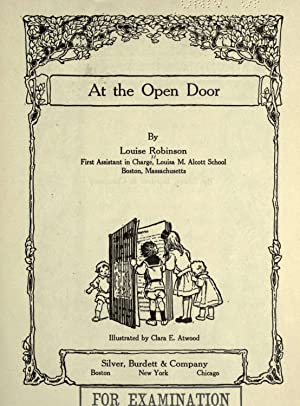 At the open door [Reprint]: Robinson, Louise