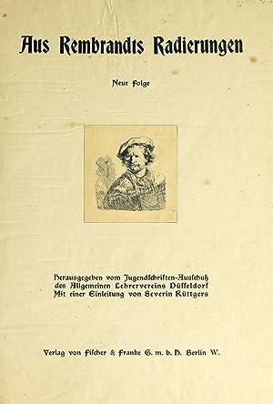 Aus Rembrandts Radierungen (1900) [Reprint]: Rembrandt Harmenszoon van