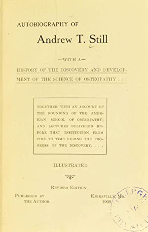 Autobiography, with a history of the discovery: Royal College of