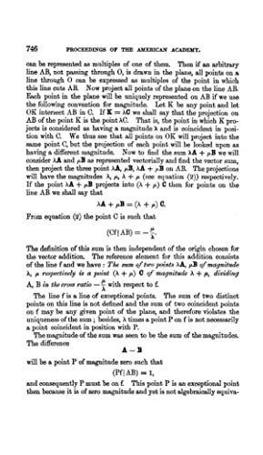 An Algebra of Plane Projective Geometry (1912): Moore, C. L.