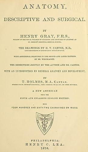 Gray Henry Anatomy Of The Human Body Abebooks