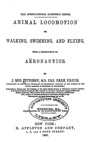 Animal locomotion; [Reprint] (1885): Pettigrew, James Bell,