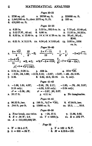 Answers to Exercises in An Introduction to: Frank Loxley Griffin