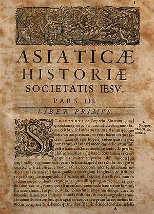 Asiaticae historiae Societatis Jesu pars tertia, libris: Daniello Bartoli