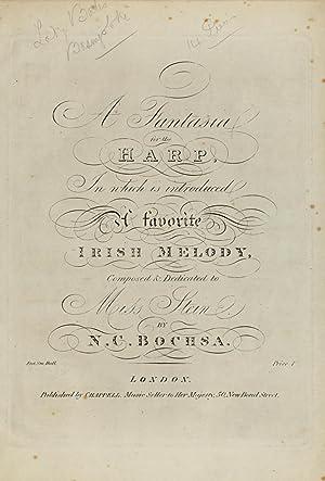 A fantasia for the harp : in: Bochsa, Robert Nicolas