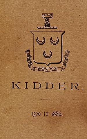 A history of the Kidder family from: Kidder, Frank E.