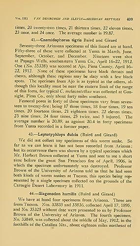 A list of the amphibians and reptiles: John Van Denburgh,Joseph