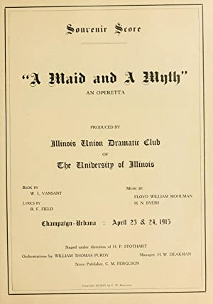 A maid and a myth : an: Mohlman, Floyd William,