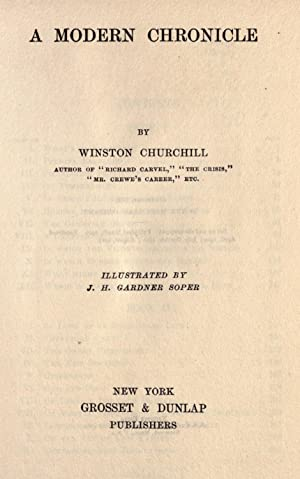 A modern chronicle [Reprint]: Churchill, Winston, 1871-1947