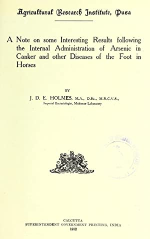 A note on some interesting results following: Holmes, John Dalrymple