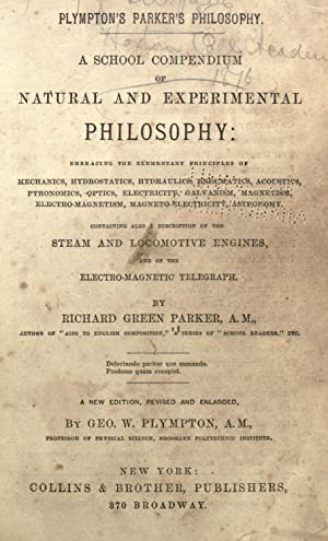 A school compendium of natural and experimental: Parker, Richard Green,