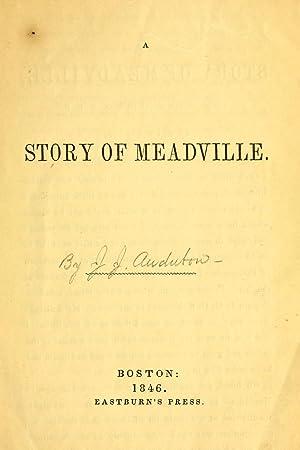 A story of Meadville [Reprint] (1846): Audubon, John James,