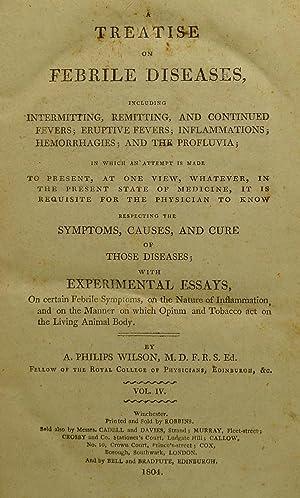 treatise febrile diseases - Seller-Supplied Images - AbeBooks