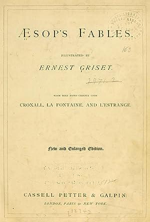 Aesop's fables [Reprint]: Aesop,Griset, Ernest Henry,