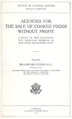 Agencies for the sale of cooked foods: United States. Council