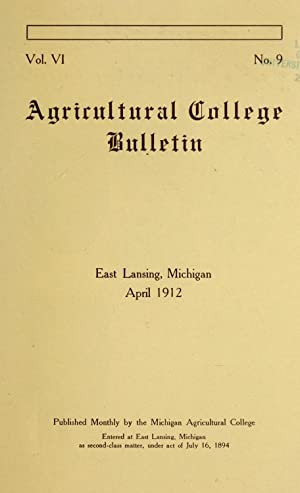 Agriculture ; engineering ; home economics ;: Michigan Agricultural College,Michigan
