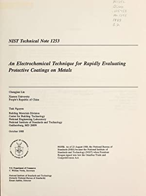 An electrochemical technique for rapidly evaluating protective: Lin, Changjian; Nguyen,