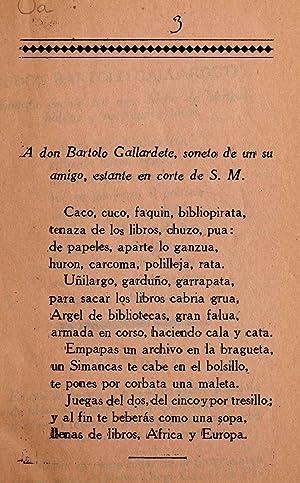 Aventuras literarias del iracundo aestremen̄o don Bartolo: Castro, Adolfo de,