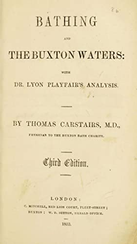 Bathing and the Buxton waters : with: University of Glasgow.